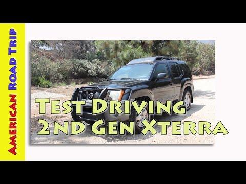 Road Trip Cars - Test Driving the 2nd Gen 2005 Nissan Xterra, 2005-2015