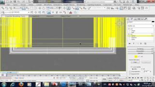 كيفية عمل المنظور المعمارى   how to make architecture perspective 3/10