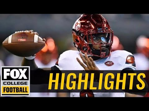 Louisville vs Purdue | Highlights | FOX COLLEGE FOOTBALL