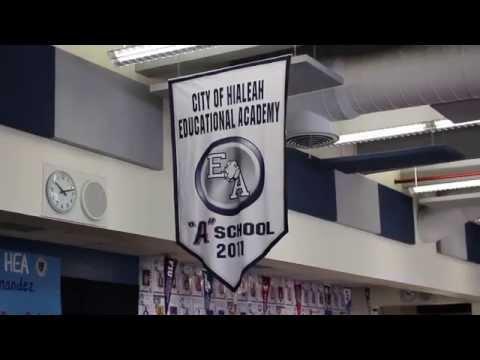 Visits to Hialeah Elementary School & HEA