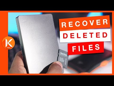 How To Recover Permanently Deleted Files For Free From SD Card / Hard Drive