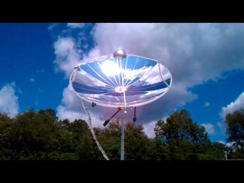 ESWS 2.4-m Dish Solar Tracking