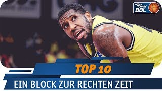 Ein Block zur rechten Zeit | Telekom Sport Top 10 | easyCredit Basketball Bundesliga