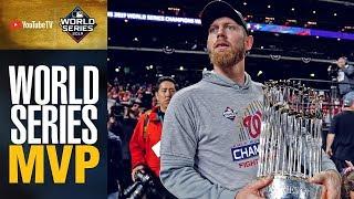 Stephen Strasburg (2 wins, 14 Ks, 2.51 ERA) takes home 2019 World Series MVP