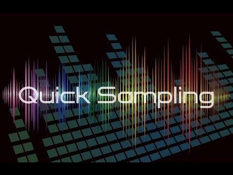 Yamaha PSR-E463 / PSR-EW410 Quick Sampling