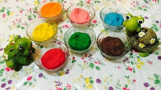 How to Make Playdough WITHOUT Cream of Tartar and No Cook! :)