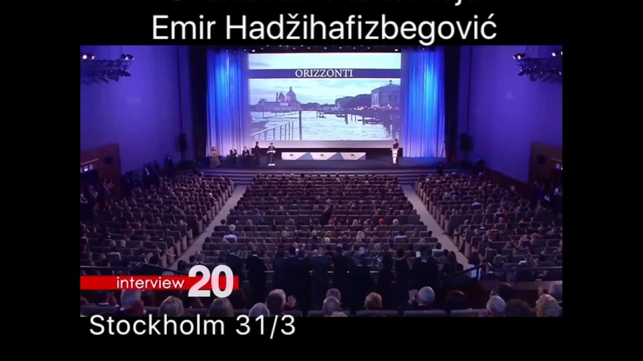 Emir Hadzihafizbegovic na Skandinavskoj turneji, najava