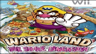 (Wii) Wario Land: The Shake Dimension - Playthrough (100% & No Damage) Intro & Area 0-1: Ratl Ruins