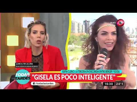 Sofía Clerici cuenta toda la verdad entre Berger y Scioli