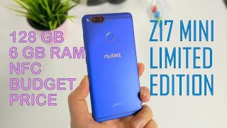 Nubia Z17 Mini Limited Edition Fast and Budget Price 128GB Android with NFC and 6GB RAM!