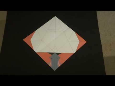 Smithsonian Magazine Origami ~ Passenger Pigeon