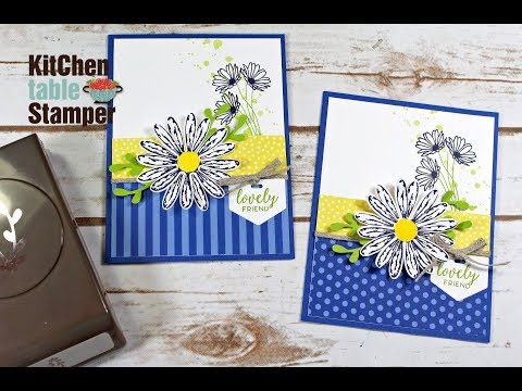 Daisy Delight Lovely Friend Card Tutorial with Holiday Catalog Product Sneak Peeks