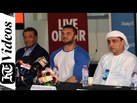 Sohail Khan at Khaleej Times office for 'DA-BANGG: The Tour - Reloaded' press conference