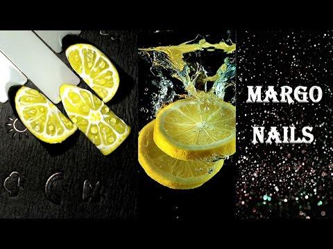 Лимон гель лаками