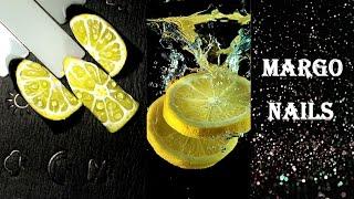 Маникюр с апельсином на ногтях: как нарисовать цитрусовый дизайн (фото и видео)