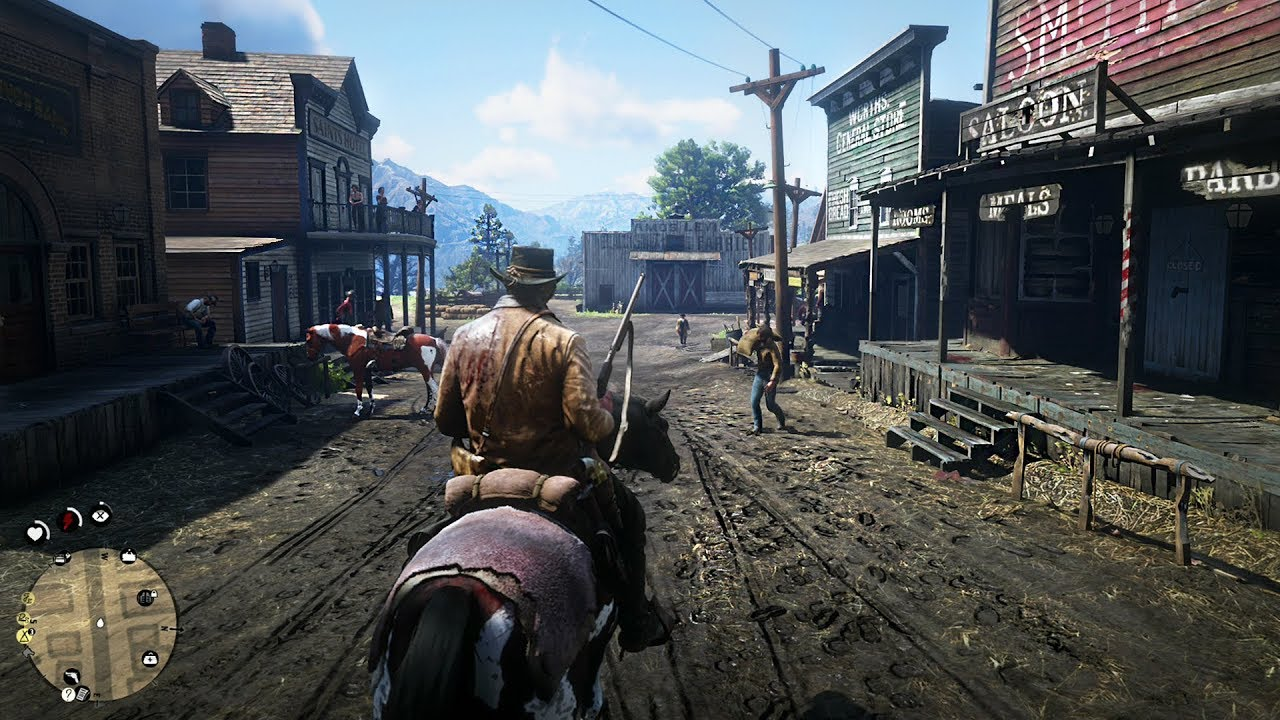 Red Dead Redemption 2 - Free Roam Gameplay LIVE! RDR 2 PS4 Pro ...