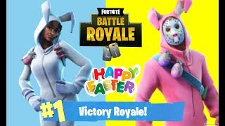 NEW BUNNY BRAWLER! // HAPPY EASTER! *ULTIMATE SKIN* ON CONSOLE (XBOX) FORTNITE BATTLE ROYAL VICTORY!