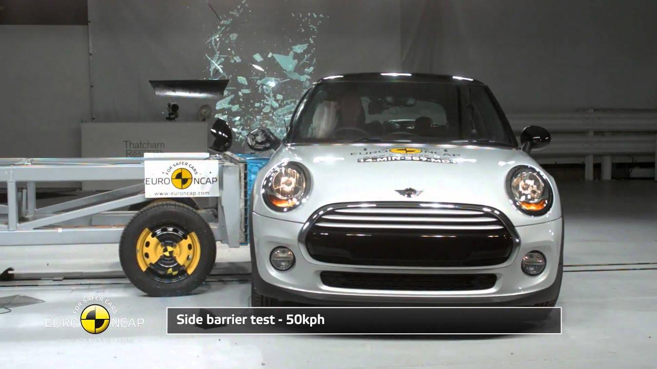 Euro Ncap Crash Test Of 2017 Mini Cooper 4 Star Safety Rating