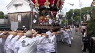 椋橋総社秋祭り・布団太鼓