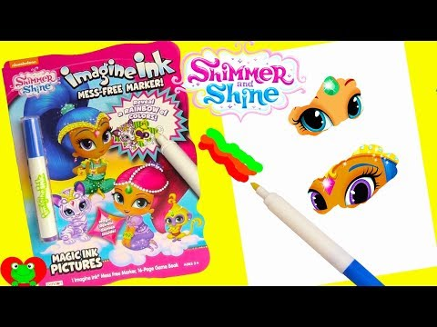 Shimmer And Shine Princess Samira Magic Coloring Games Surprises