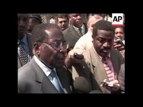 Zimbabwe leader visits, comment on  land reform