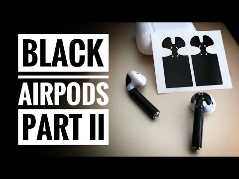 Black Apple AirPods, Part II