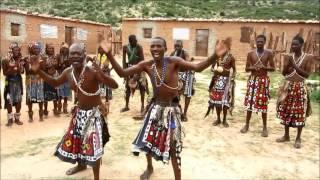 The Mumuila African tribe in Angola (muhilla, mwilla), Huila/Cunene, near Lubango