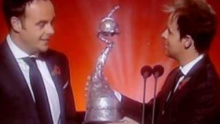 Ant and Dec Win National Tv Awards 2008