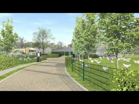 Architectural Animation Cicken Farm, Netherlands by 3D partners