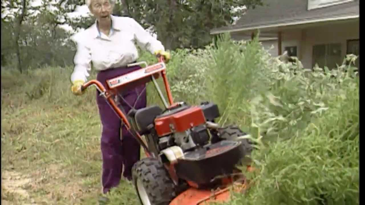 DR Self-Propelled Brush Mower - Dawn's Review