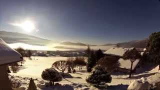 Lever de soleil à Autrans dans le Vercors - Autrans-location.com