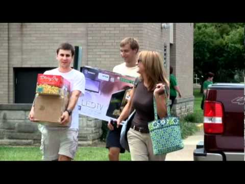 Move-In Day at the University of Evansville
