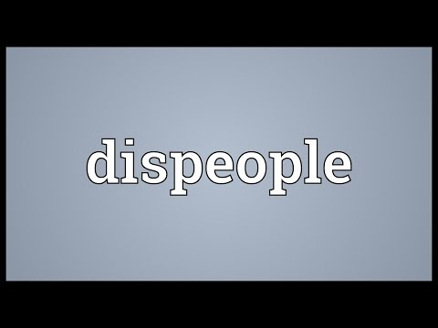 Header of dispeople