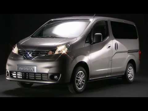 nissan nv200 nissan evalia youtube. Black Bedroom Furniture Sets. Home Design Ideas