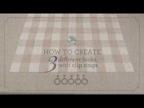 3 Ways To Hang Curtains With Clip Rings By Country Curtains
