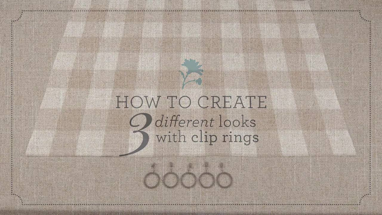 3 Ways To Hang Curtains With Clip Rings By Country