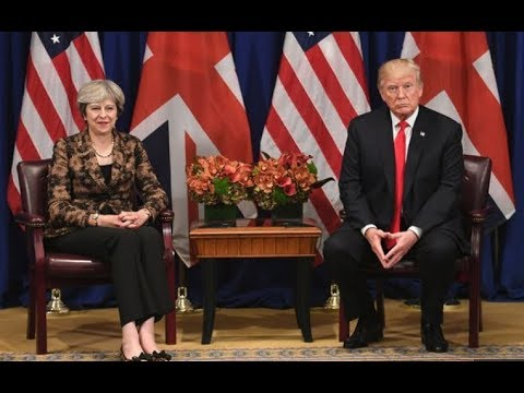 President Donald Trump DESTROYS  Main Stream Narrative on his Relationship with UK PM Theresa May