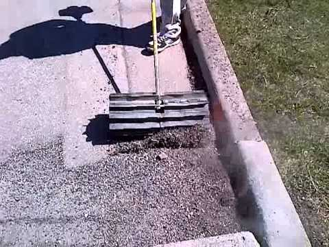 Stihl Power Broom Youtube