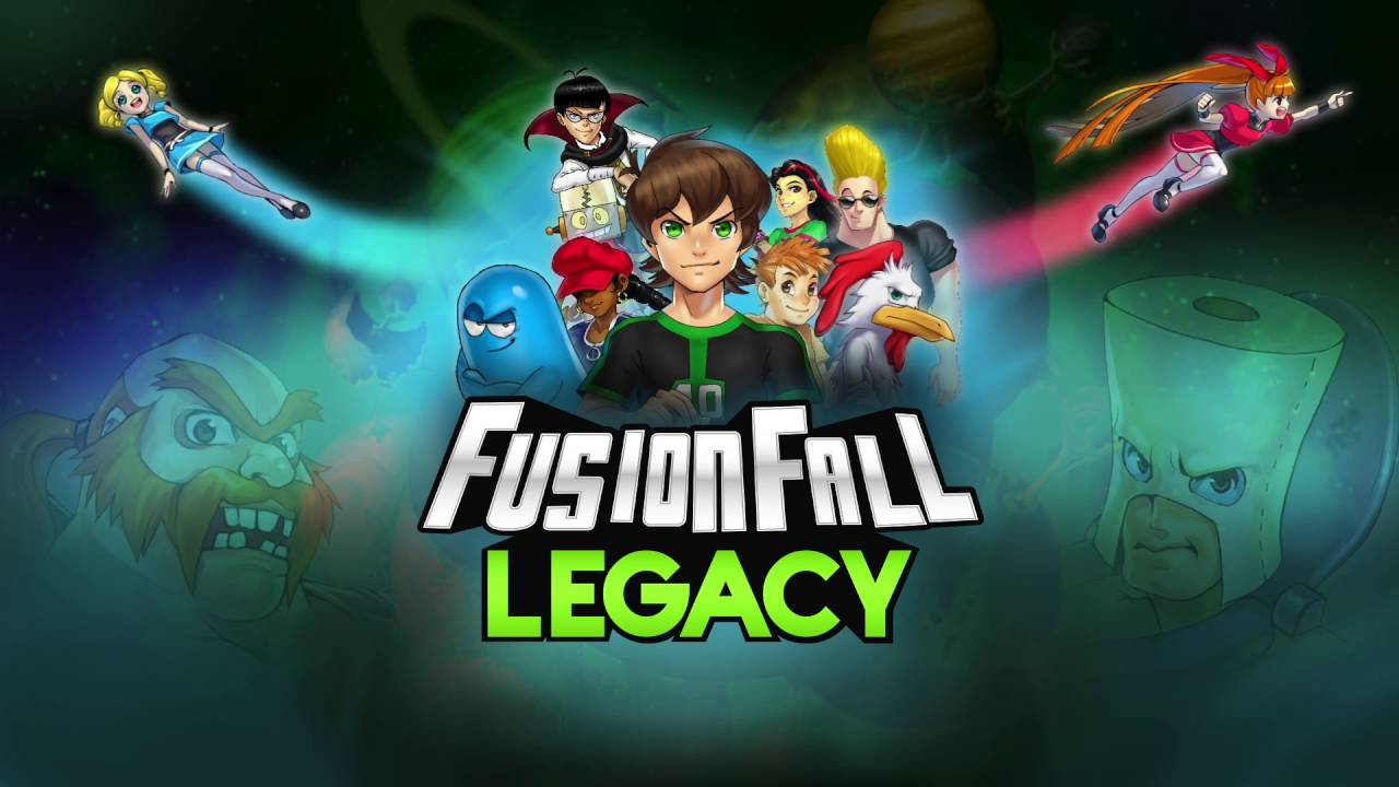 Free Fall Screen Wallpaper Fusionfall Legacy Main Theme By Panman14 Youtube