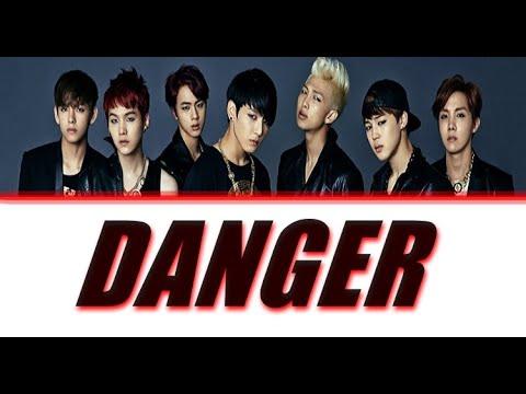 BTS - DANGER Lyrics (Colour Coded)