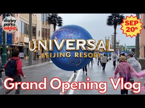 Universal Studios Beijing - Grand Opening VLOG - 20th September 2021