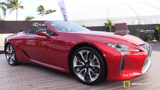 2021 Lexus LC500 Convertible Walkaround Tour - 2020 Fort Lauderdale Boat Show