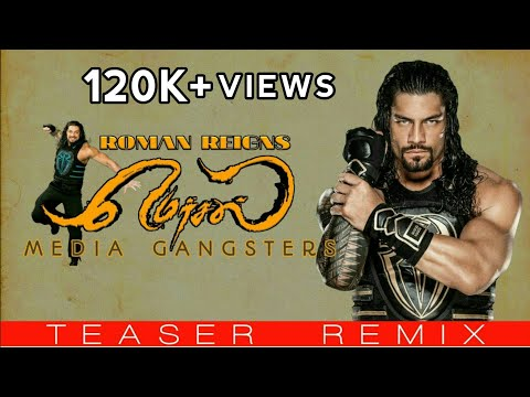 Mersal Teaser WWE Roman Reigns Version...