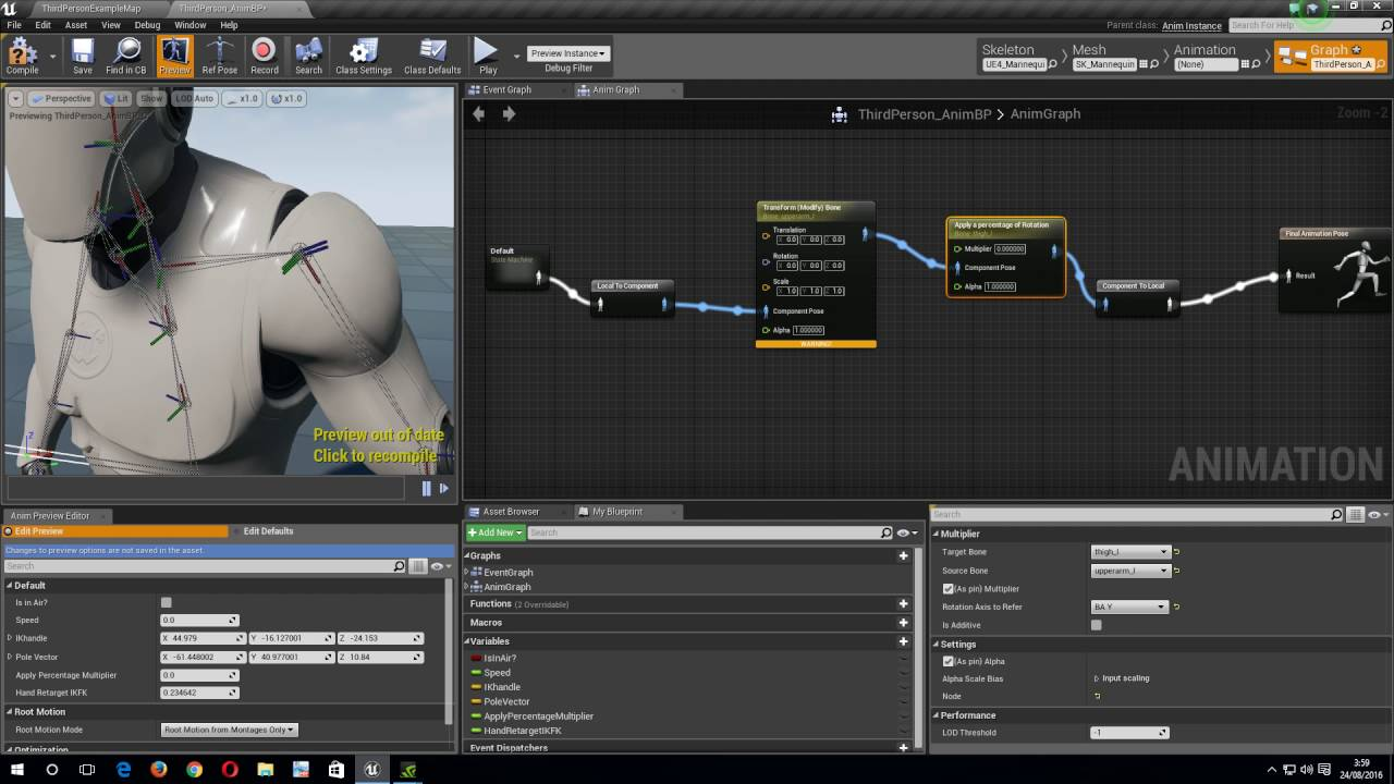 Ue4 skeletal controls apply a percentage of rotation youtube ue4 skeletal controls apply a percentage of rotation malvernweather Choice Image