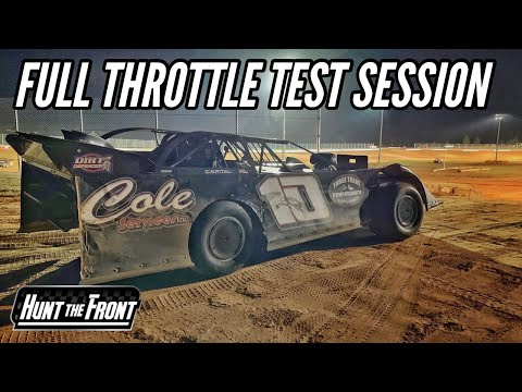 Hammer Down! Testing Our New Super Late Model Engine at Deep South Speedway