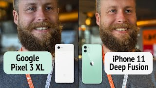 iPhone 11 iOS 13.2 Deep Fusion vs iPhone Xr vs Google Pixel 3. ОНИ СМОГЛИ??
