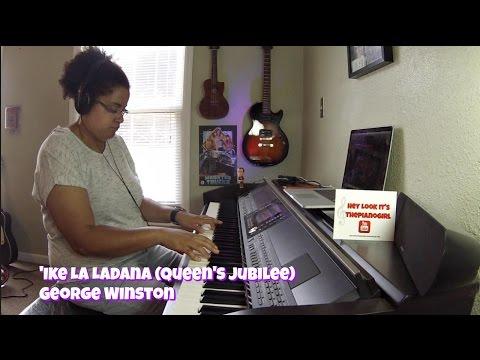 George Winston- 'Ike La Ladana Queen's Jubilee (Piano Solo) w/SHEET MUSIC