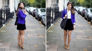 Velvet Skirt Outfit of the Day Thumbnail