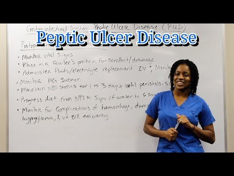 Medical Surgical Gastrointestinal System: Peptic Ulcer Disease