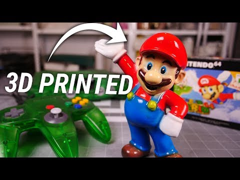 Thumbnail: 3D PRINTING Super Mario - How SMOOTH can we get him?